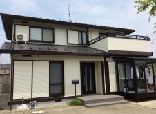 西郷村  T様 屋根/外壁塗装工事