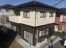 須賀川市 I様邸 外壁塗装工事