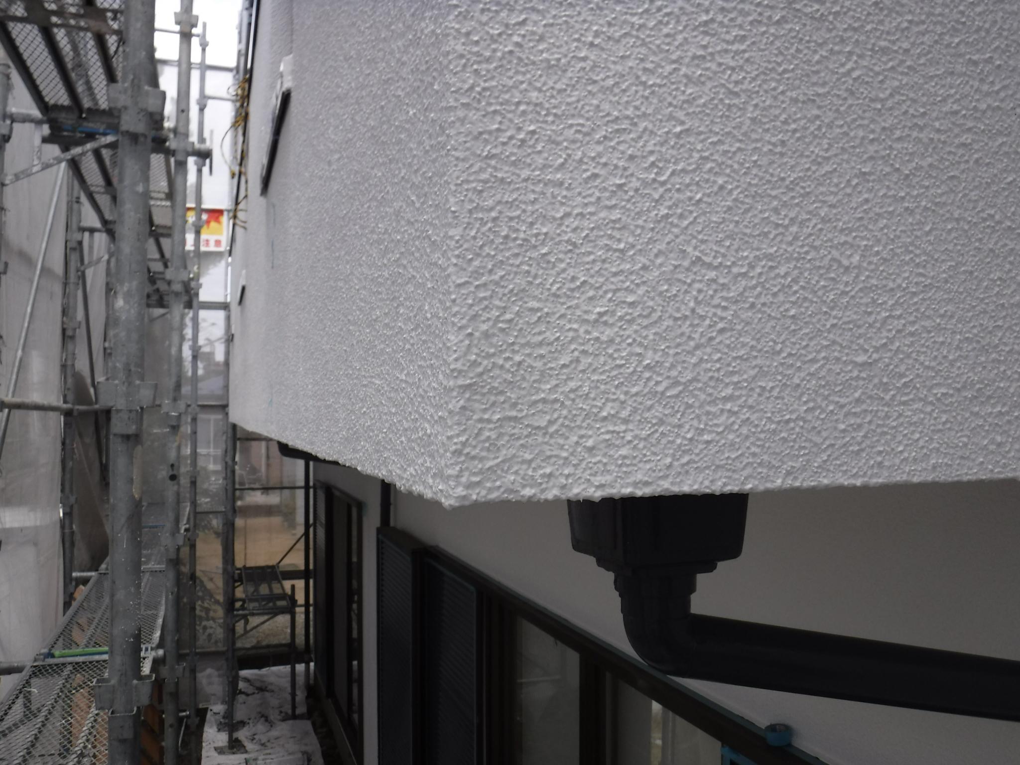 モルタル外壁 外壁塗装 白河市