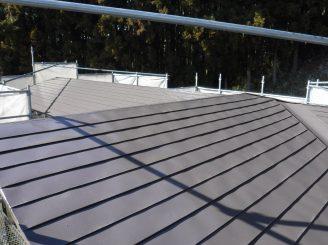 金属屋根 屋根塗装 白河市