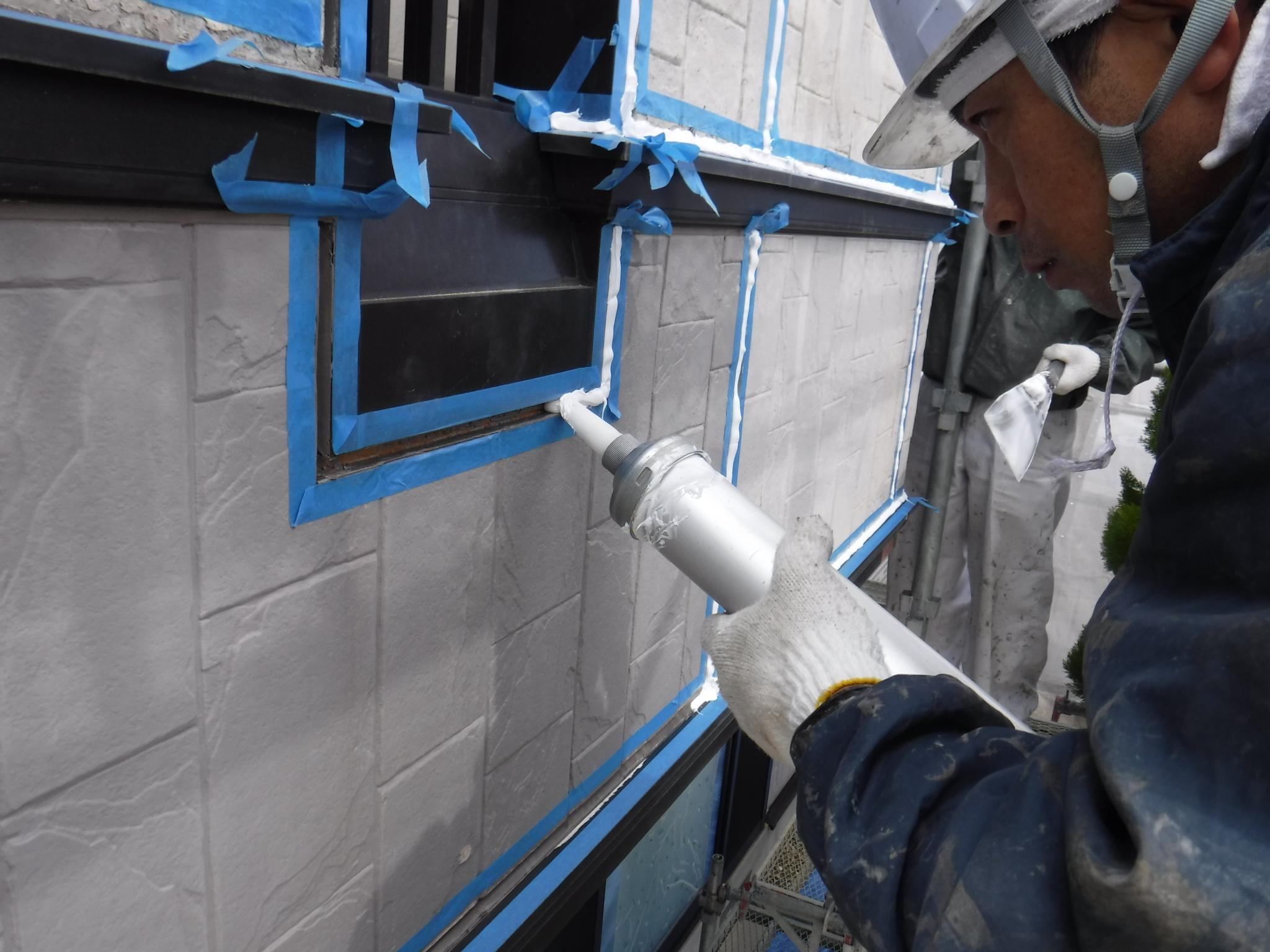 窯業系サイディング 外壁塗装 白河市
